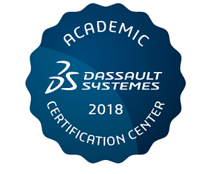 Academic Certification partner with Dassault Systemes