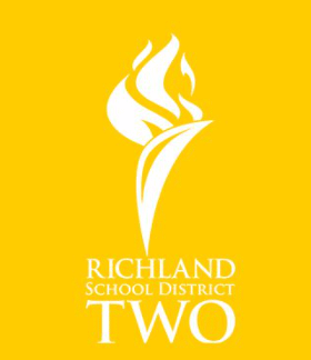 Richland School District Two logo yellow